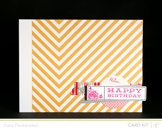 Big Chevron Birthday Card