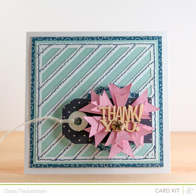 Thank You Card by @pixnglue using Studio Calico's Spencer's Kit