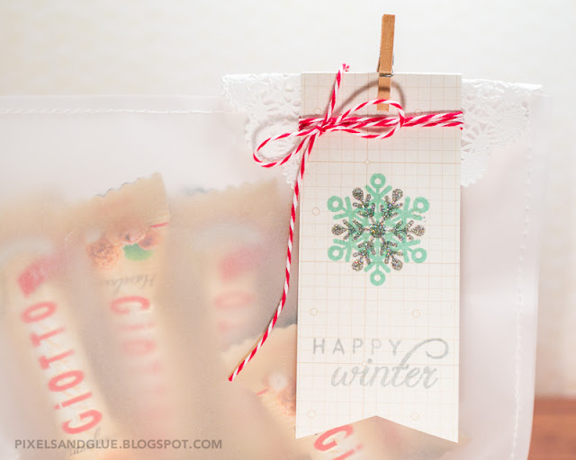 Holiday gift wrap by @pixnglue