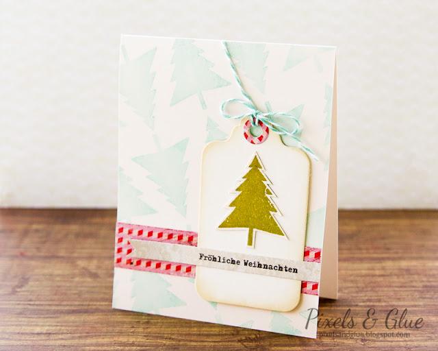 Scrap-Art-Zine Fall 2012 Pub - Christmas Tree Card