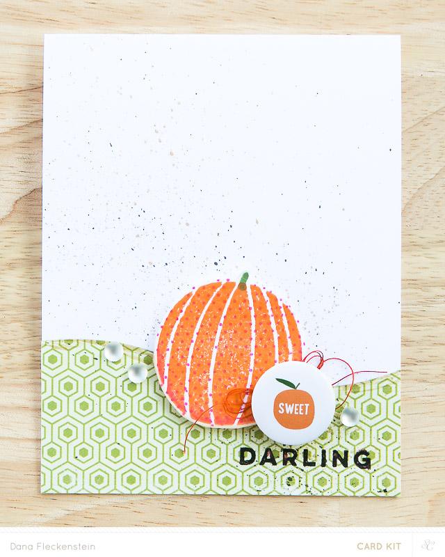 Sweet Darling - handmade card by @pixnglue