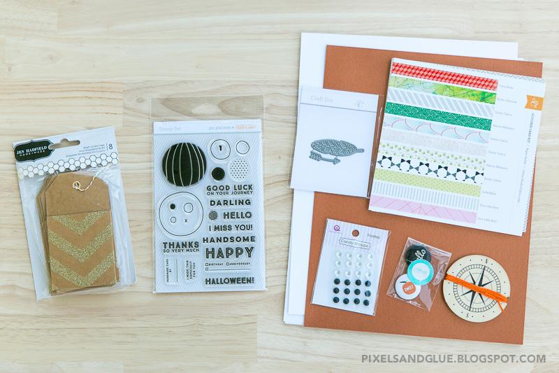 Studio Calico The Underground Card Kit (October 2014)