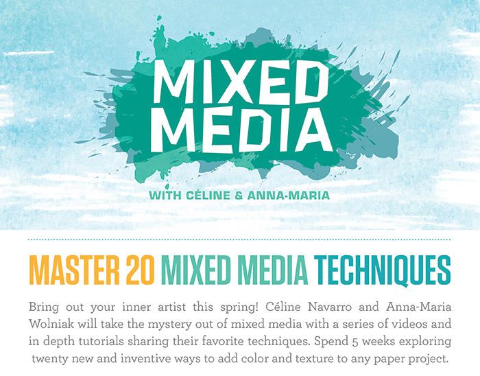 Studio Calico Class Master Mixed Media Techniques