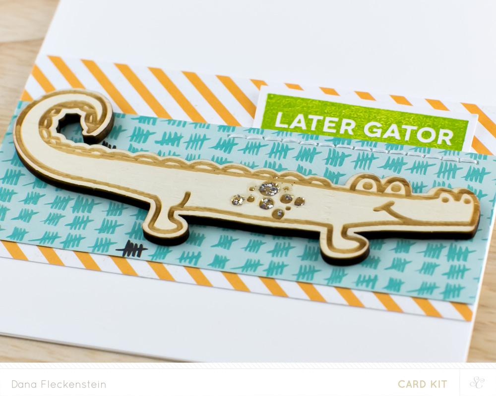 Later Gator Card Detail