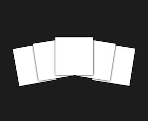 Thick Letterpress Paper