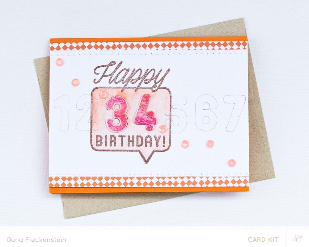 Happy 34th Card