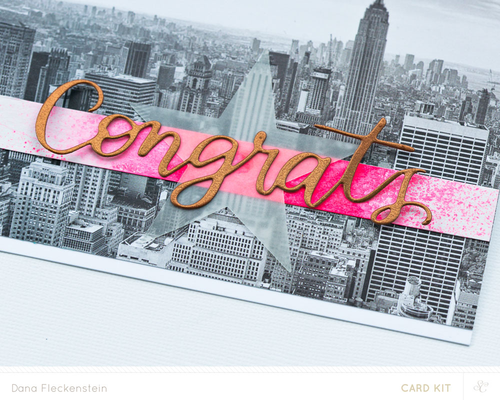 Congrats (New Home) card detail