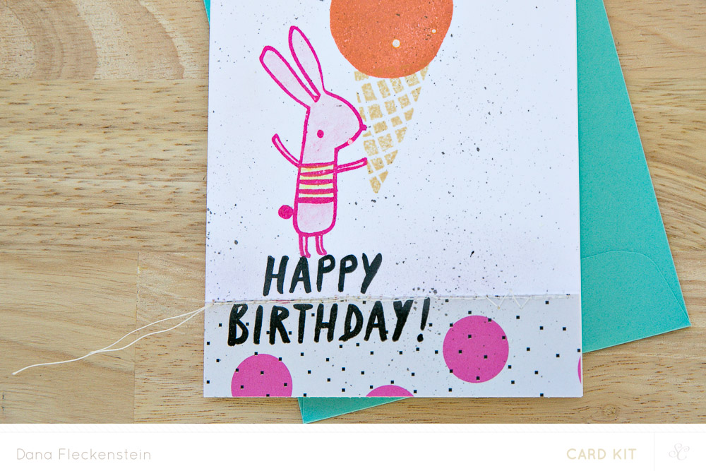 Studio Calico Galileo Bunny Gelato Card