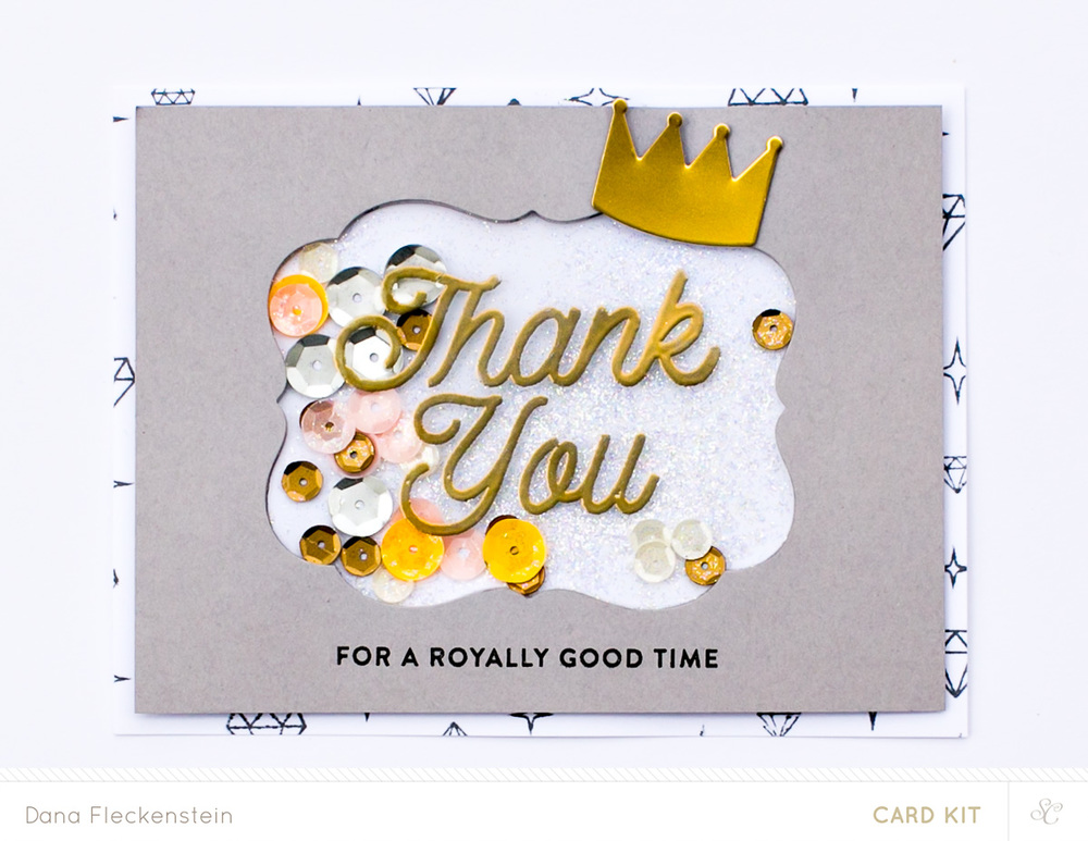 Royal Thank You Card