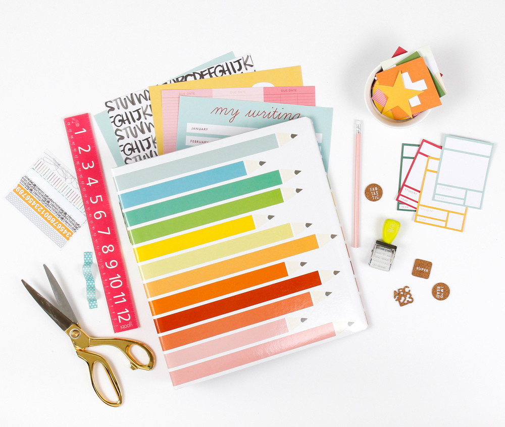 7Paper Darcy Collection for Back to School projects