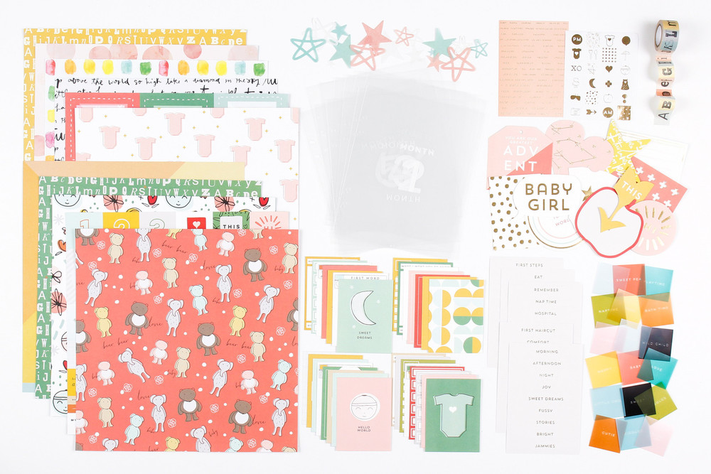 7Paper Clara Collection - Baby Girl