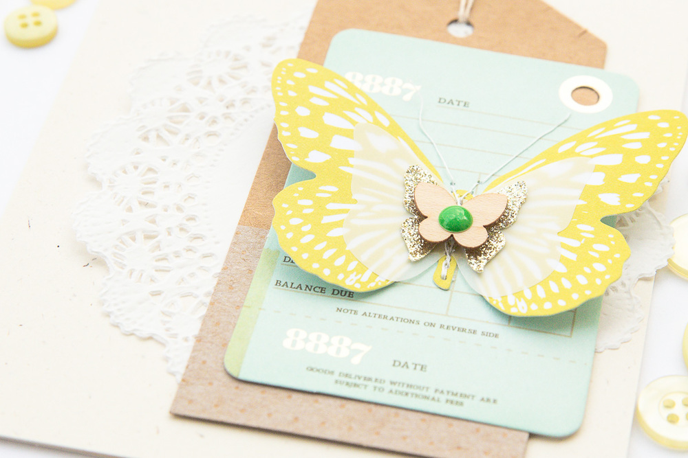 Spring card by @pixnglue