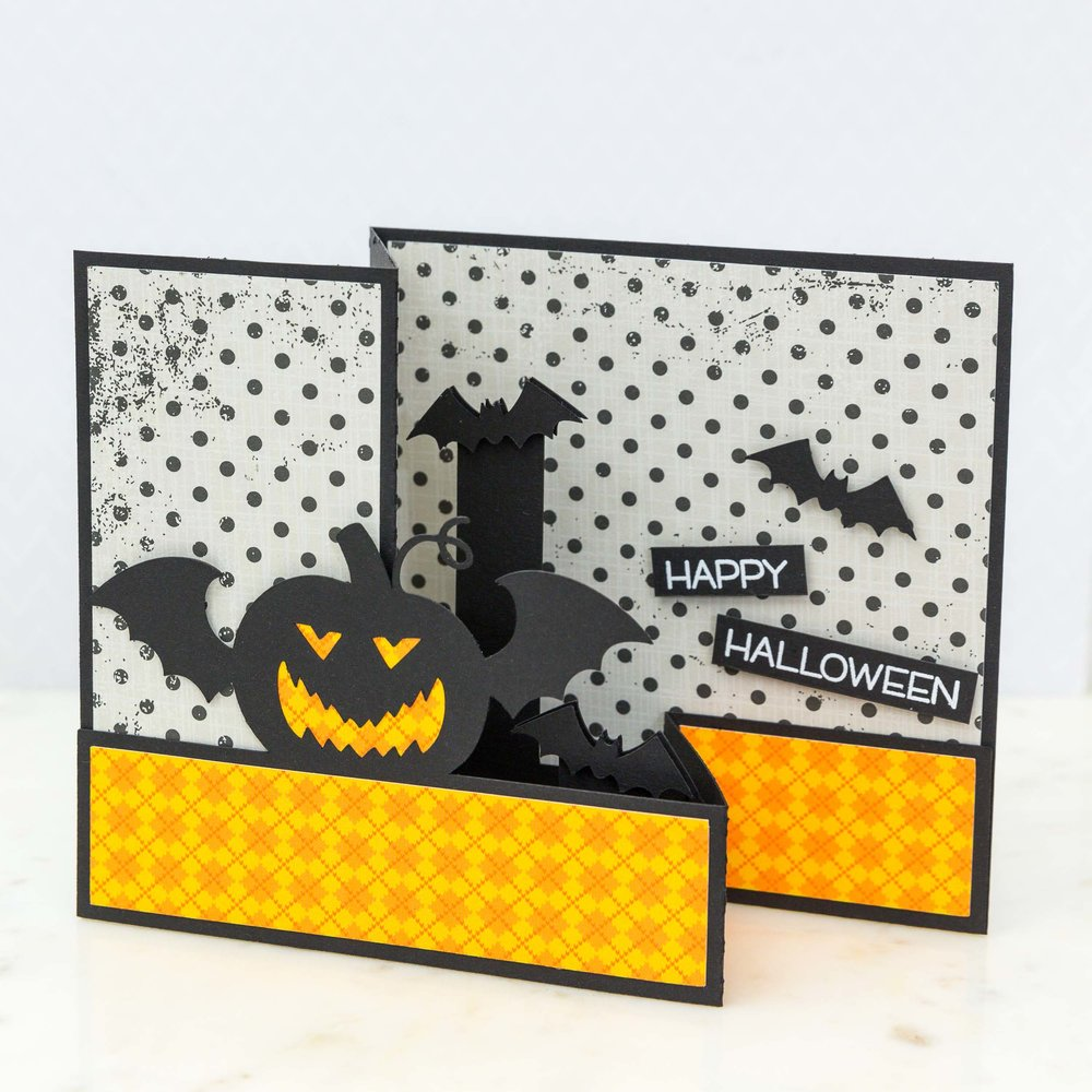 Halloween Card by Mimi Zitrone