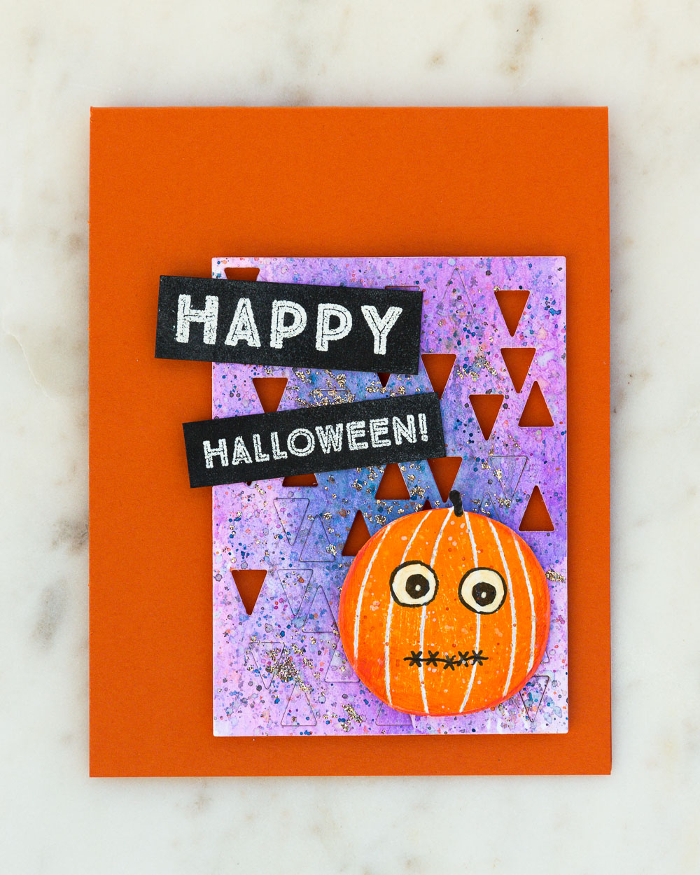 Halloween Card by @pixnglue