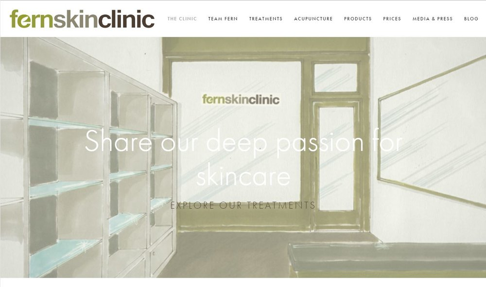FernSkinClinic - New Website