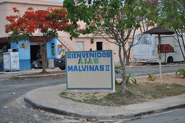 Las Malvinas II is a community in Villa Mella, the northern District of the Capital of the Dom. Rep.