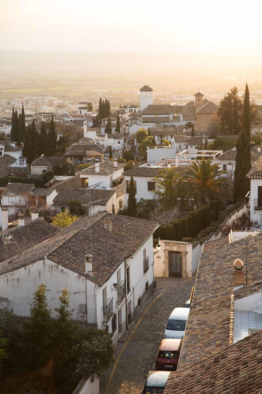 Granada - Albaicin y el atardecer