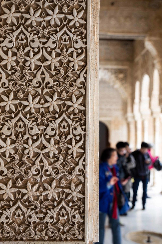 Granada - Detalles del Alhambra
