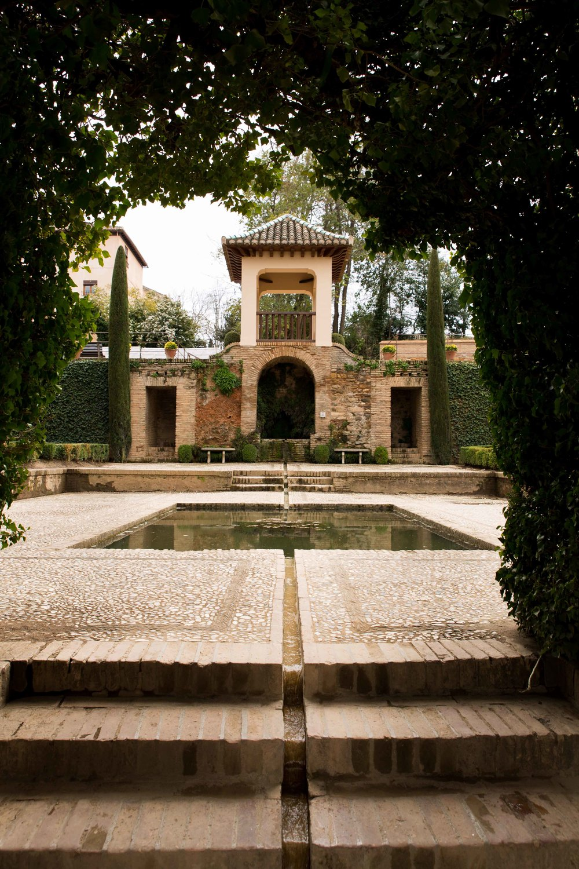 Granada - Jardines del Alhambra