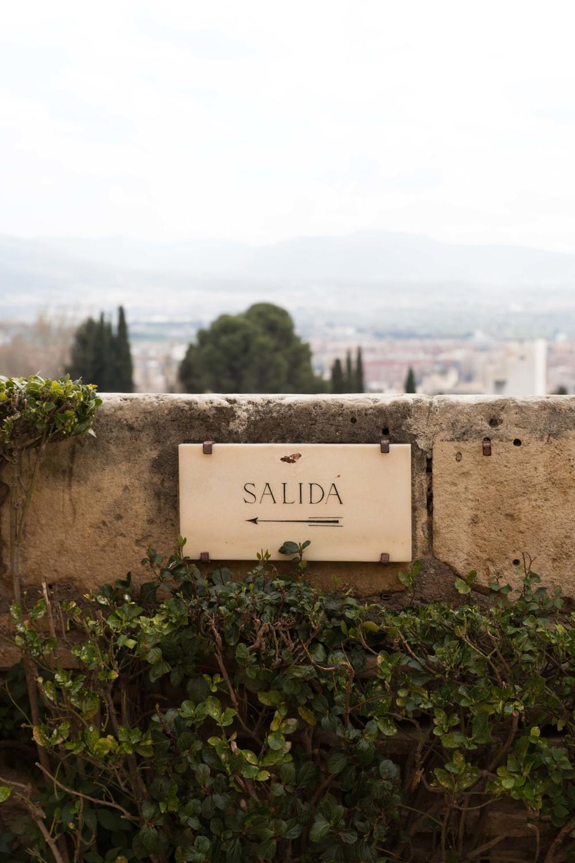 Granada - Salida