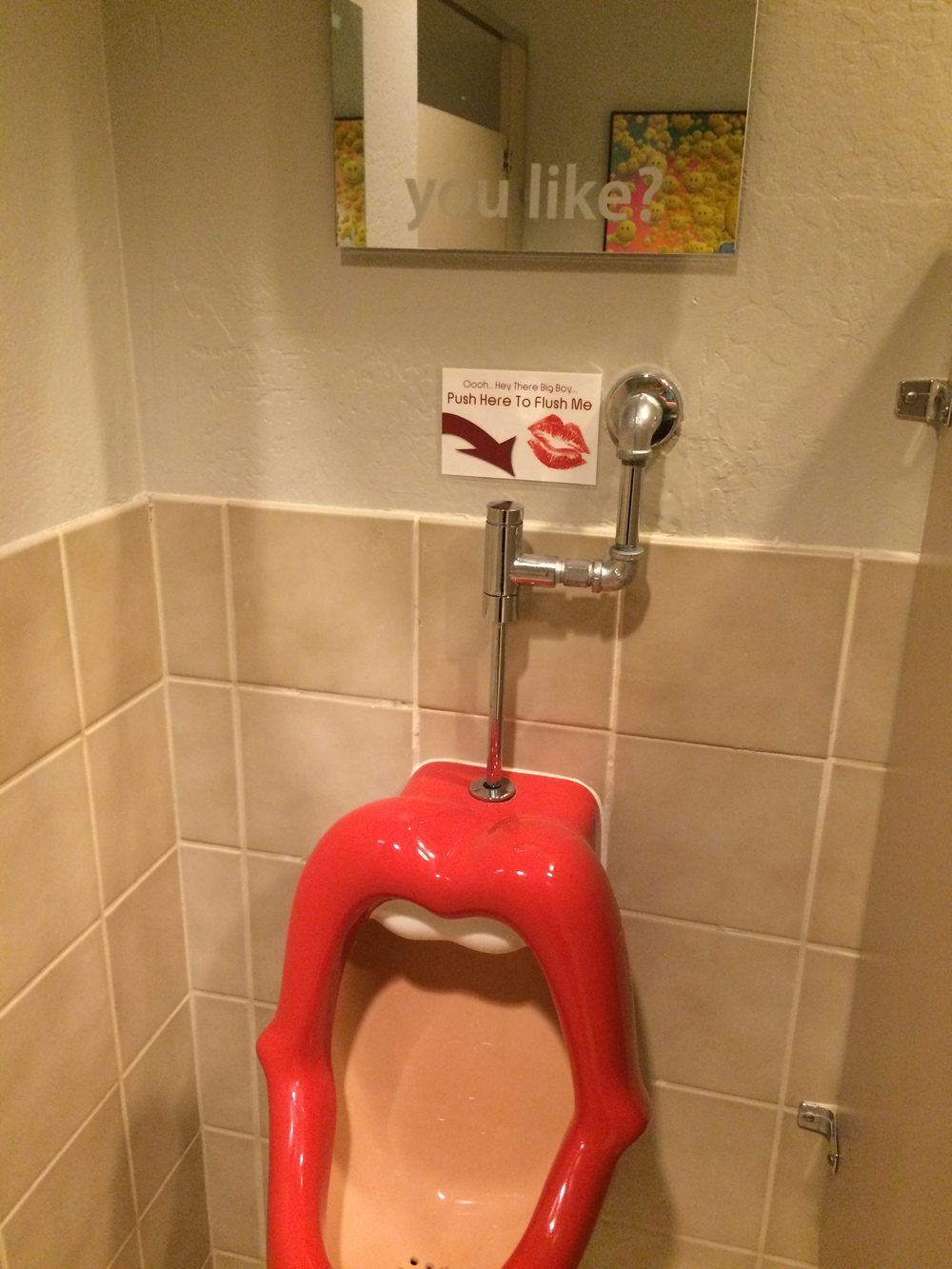 The Best Urinal...ever.