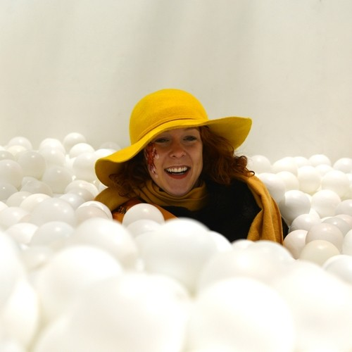 vicky johnson in the ball pool