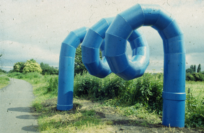 Big Blue Pipe