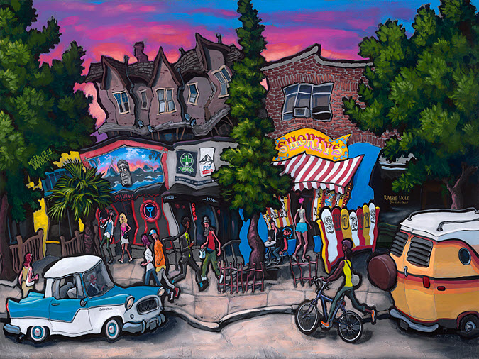 Shorty's — Seattle<br>36x48  $1,000  Signed Limited Edition <br>28x36  $500<br>18x24  $200