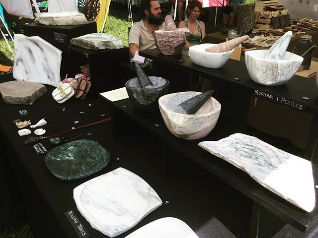 Posted up at Jammin' at Hippie Jack's Americana festival all weekend! Come by our tent to check out some marble goodies as well as jewelry from @brie_flora ! #jamminathippiejacks #jahj #marble #craft #vendor #middletn #festie