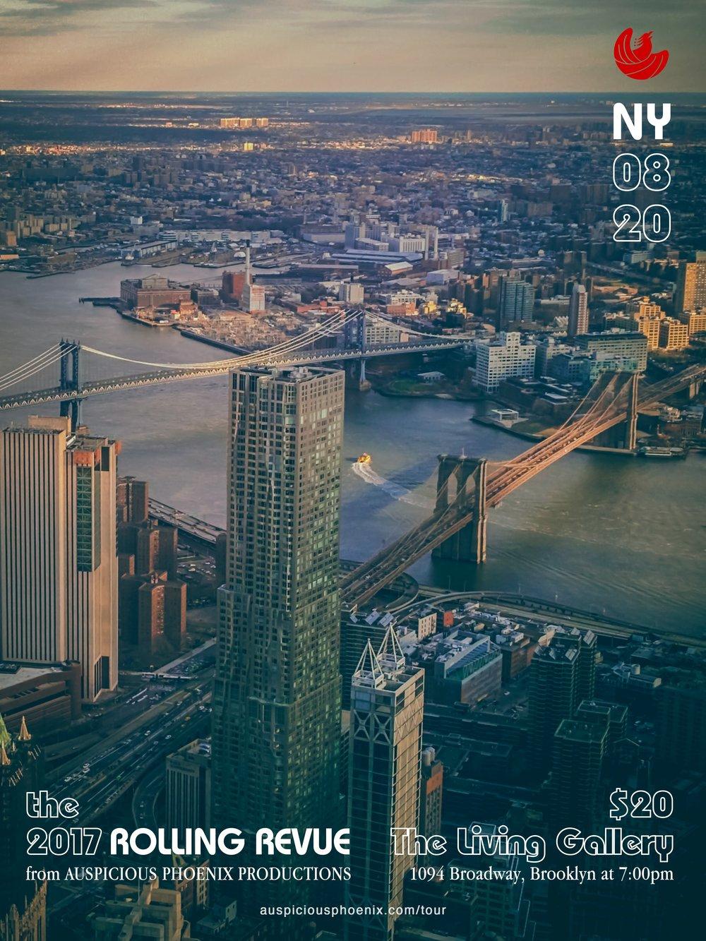 NEW YORK CITY 8/20