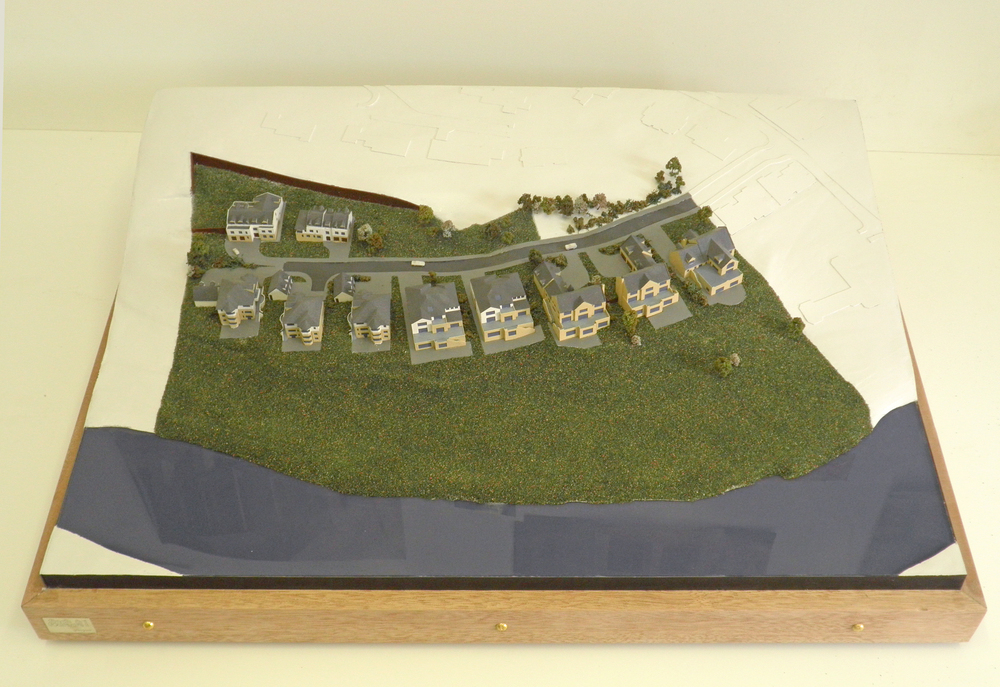 1:500 model of housing development, DTA Architects