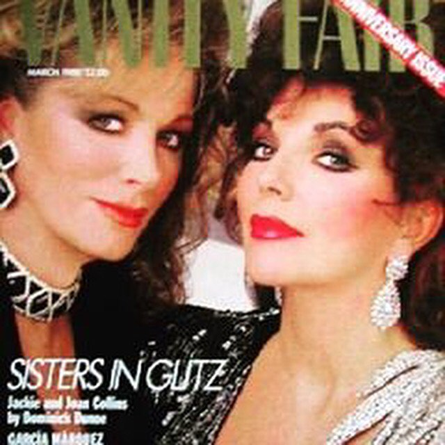 RIP Jackie Collins. #jackiecollins #ontheleft #legend #luckybitches