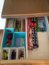 No School Room Homeschool Organization