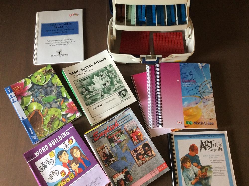 Grade 3 Homeschool Curriculum