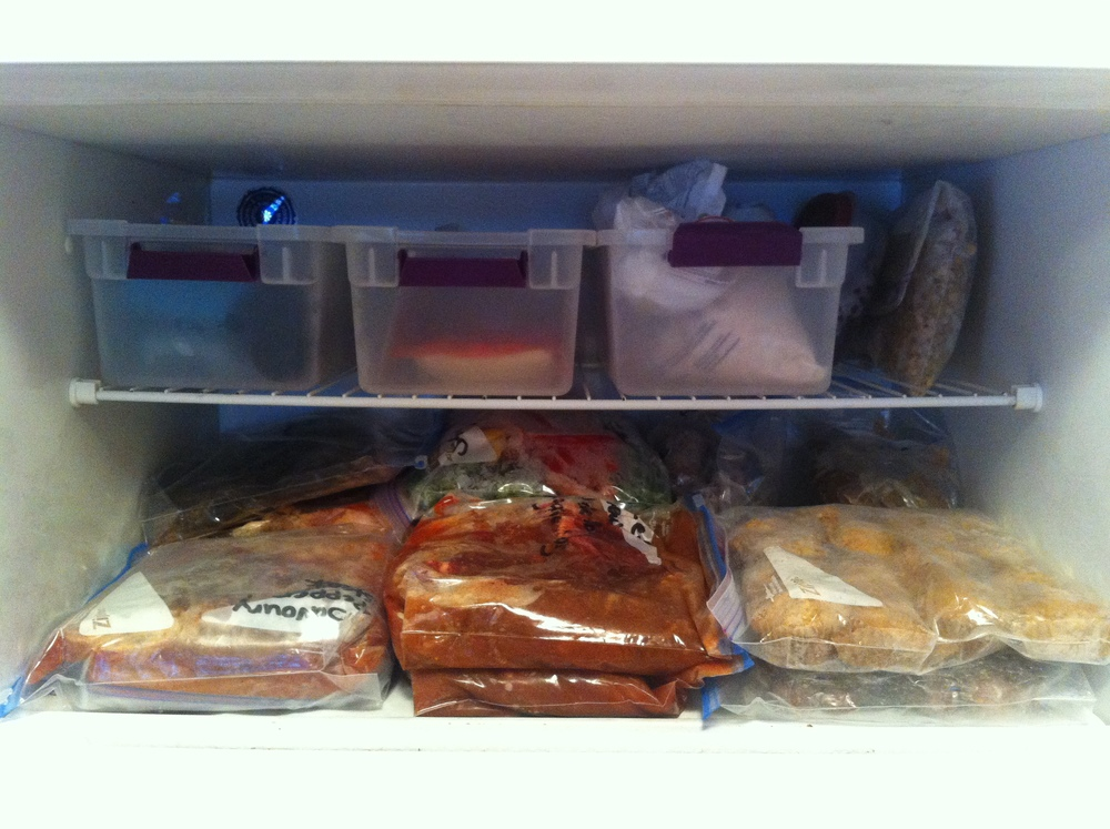 Freezer Meals and Extra Baking