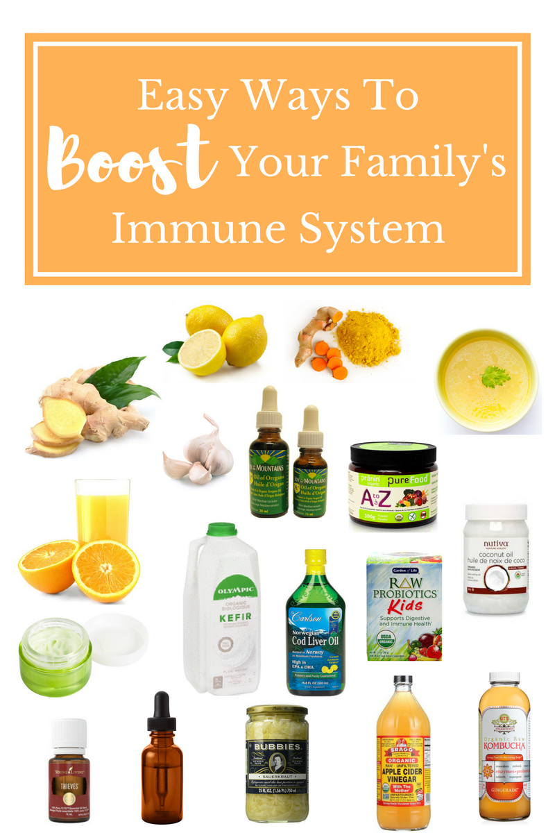 Easy Ways To Boost Your Family's Immune System