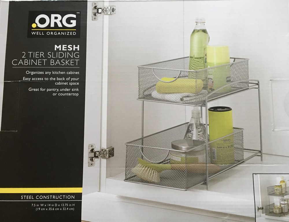 Under Sink Cabinet Basket