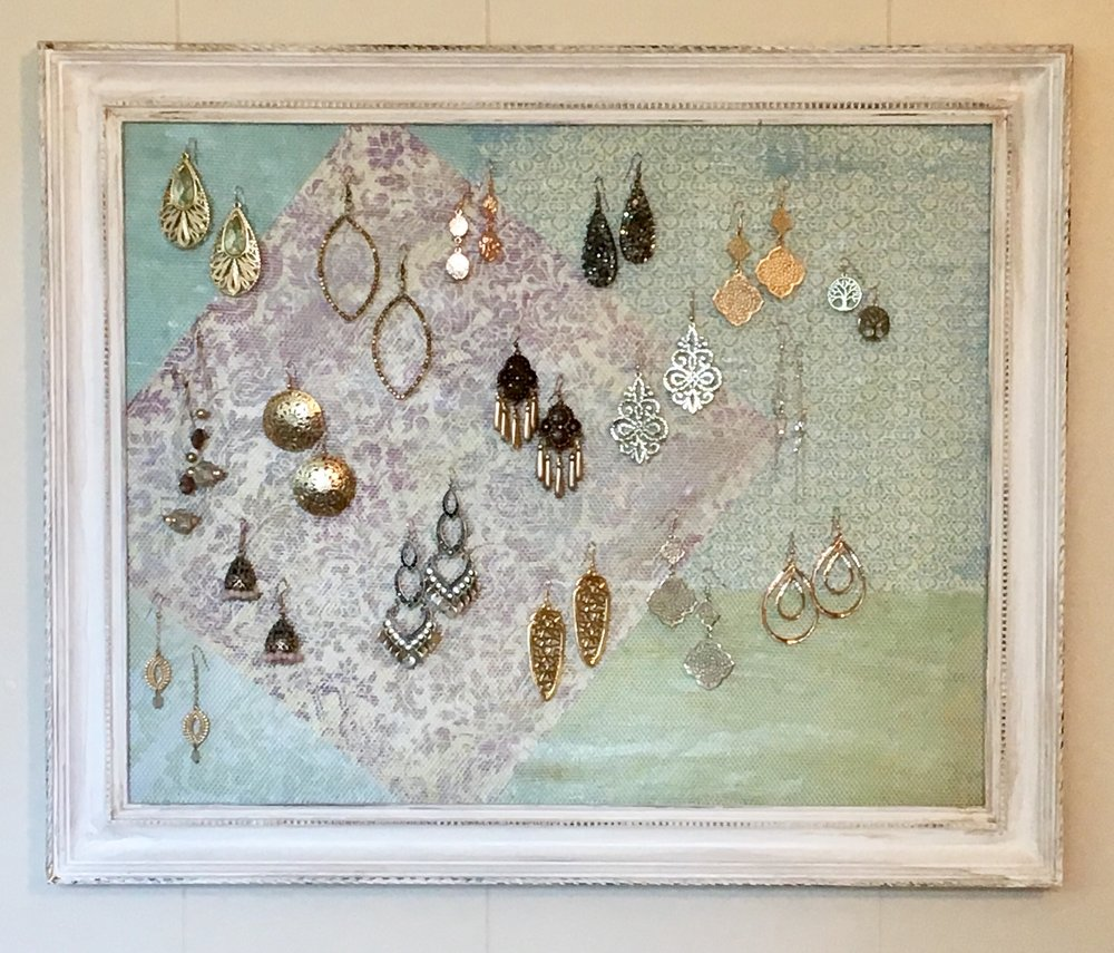 DIY earring board