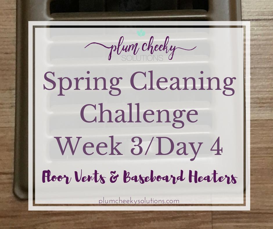 spring cleaning challenge-floor vents