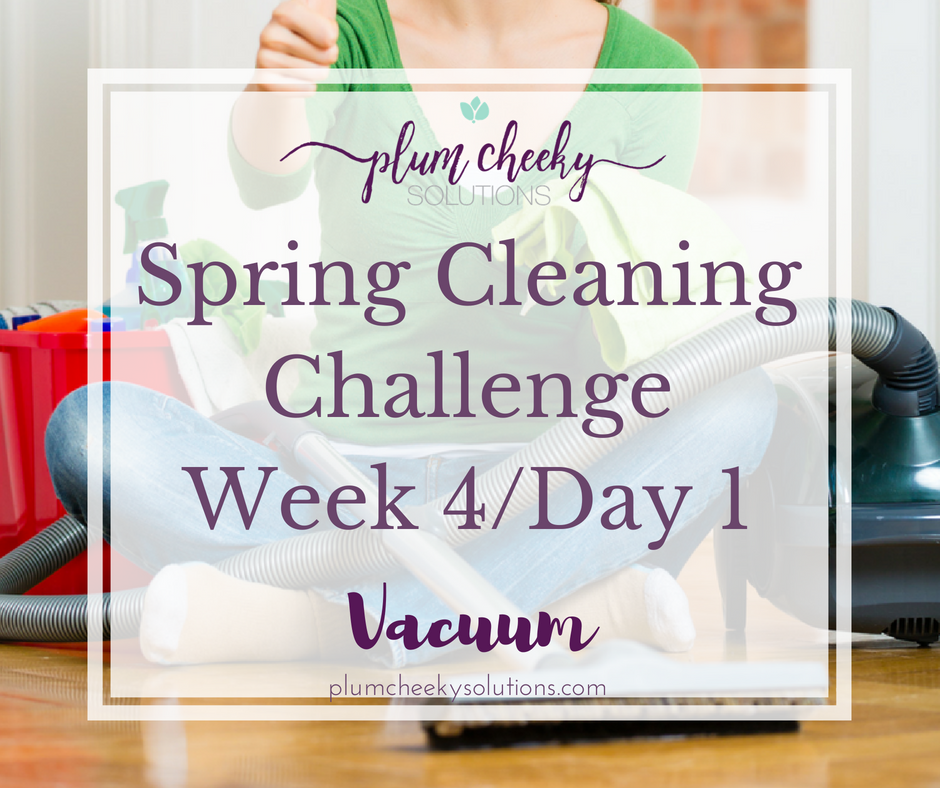 Spring Cleaning Challenge-Vacuuming