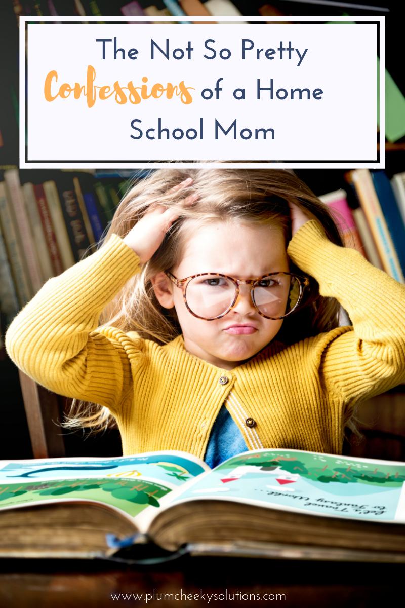 confessions of a homeschool mom