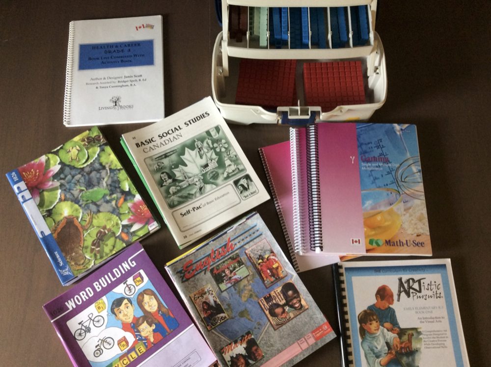 Grade 3 Homeschool Curriculum and Resources