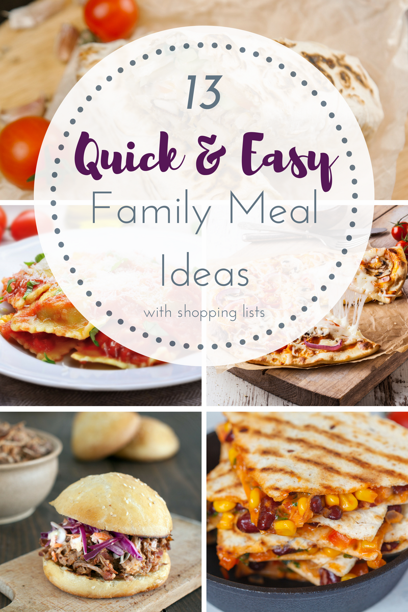 13 Family Dinner Ideas That Are Fast And Easy