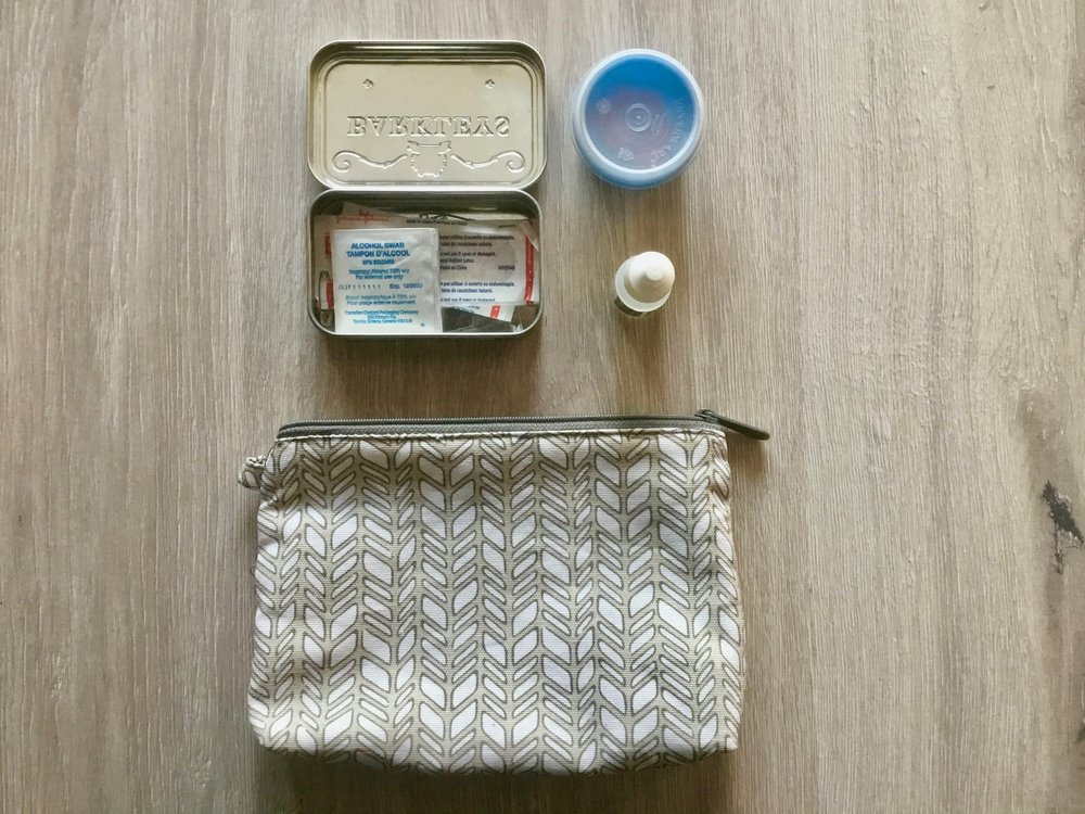 first aid/medication kit