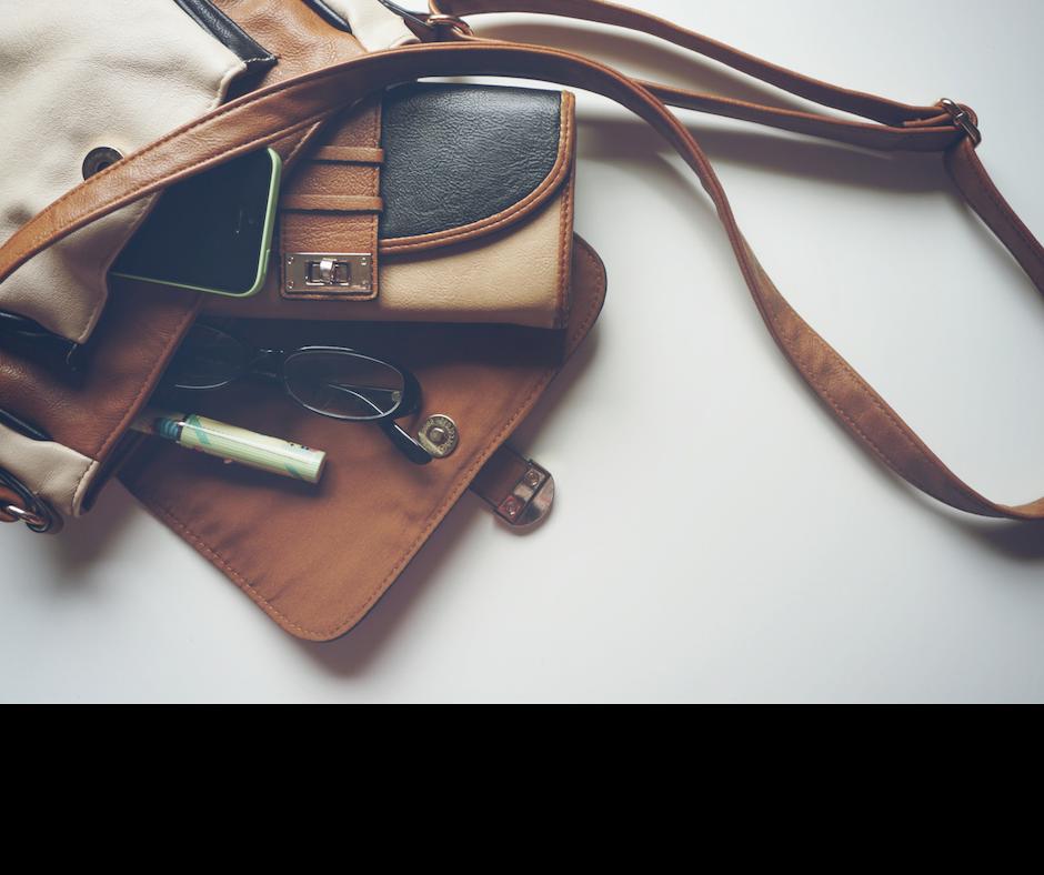 declutter purse daily
