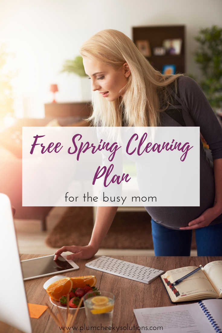 spring cleaning for busy moms