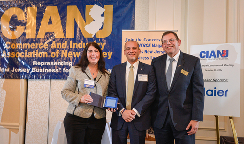 The Commerce and Industry Association of New Jersey held their 87th Annual Luncheon and Meeting at the Hilton Woodlcliff Lake on Friday, October, 31, 2014. /Russ DeSantis Photography and Video, LLC