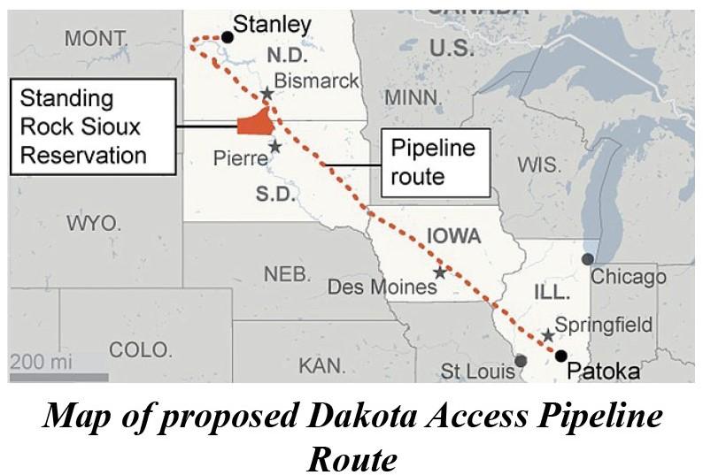 Dakota Access Pipeline Iowa Map.Anarchists Targeting North Dakota Access Pipeline