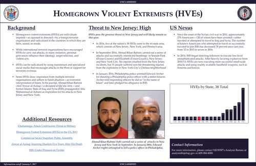 Homegrown Violent Extremist(s)