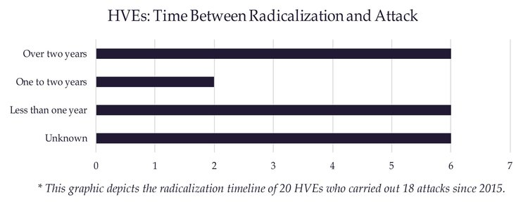 Radicalization Timeline and Trends